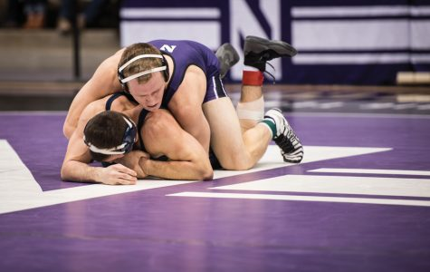 Wrestling: Northwestern preps for Maryland, Rutgers in final duals of regular season
