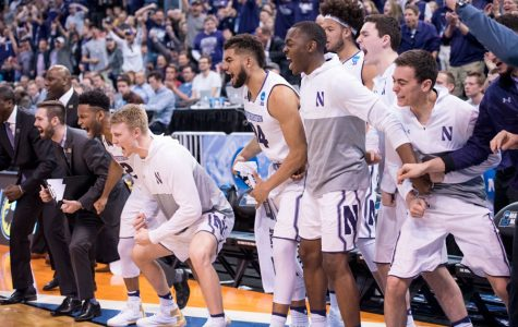 Men's Basketball:  Defense, McIntosh power Northwestern to NCAA Tournament win over Vanderbilt