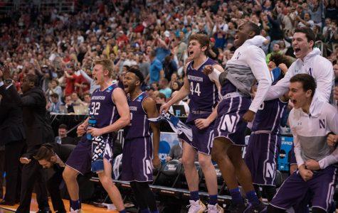 Men's Basketball: Purple faithful boost Northwestern in Salt Lake City