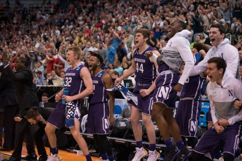 Men's Basketball: Purple faithful boost Northwestern in Salt Lake City