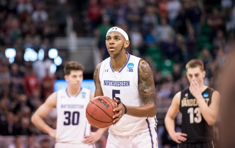 Men's Basketball: Dererk Pardon pulls through under pressure for Northwestern