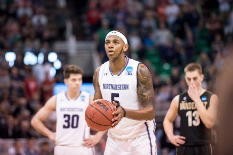 Men's Basketball: Dererk Pardon pulls through under pressure for Northwestern