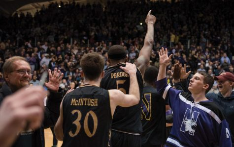 Men's Basketball: Wildcats top Michigan as Welsh-Ryan Arena goes berserk