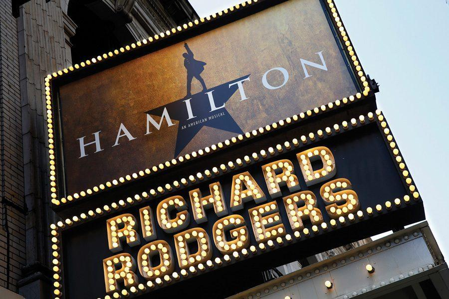 The+new+Broadway+show+%22Hamilton%22+in+previews+at+the+Richard+Rodgers+Theatre+in+New+York+City.