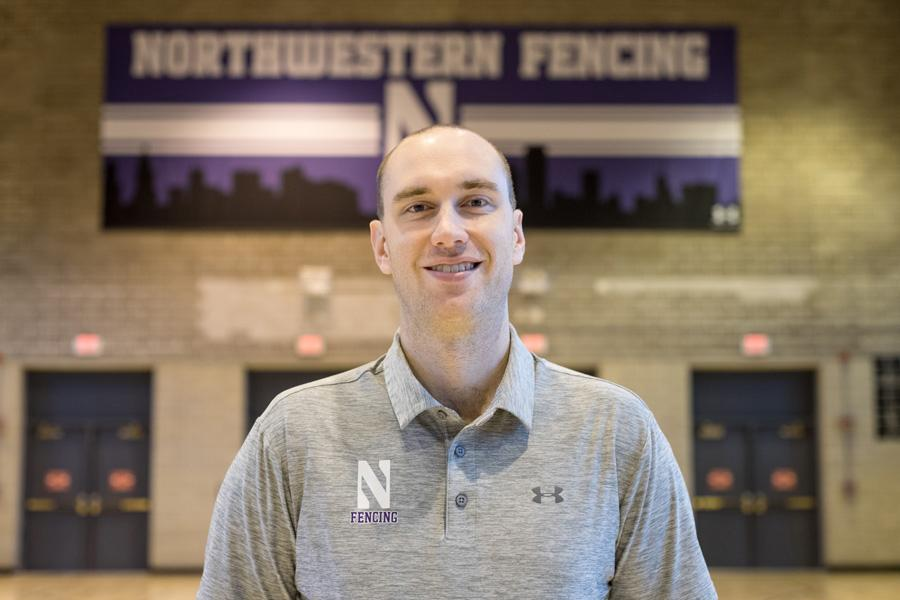 After one season at the helm, Zach Moss is looking to write his own legacy as the first new Northwestern fencing coach since 1978.