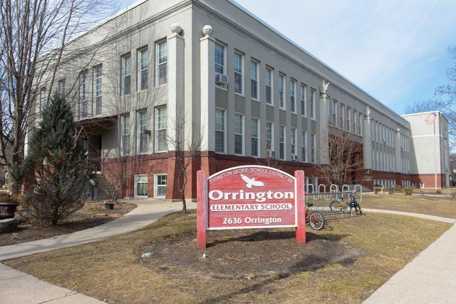 Orrington Elementary School, 2636 Orrington Ave., is one of 10 elementary schools in Evanston/Skokie School District 65. Some D65 community members have organized in support of a referendum that could raise property taxes to support the district.