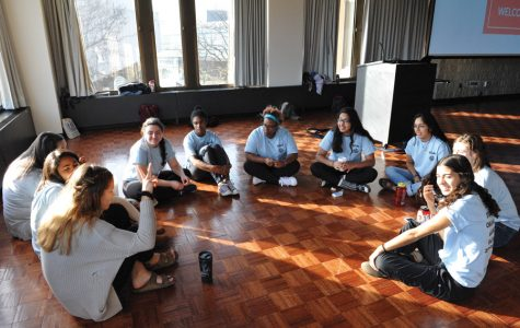 Members of Students Organized Against Racism at their conference last weekend. The group is looking to expand its impact on younger students.
