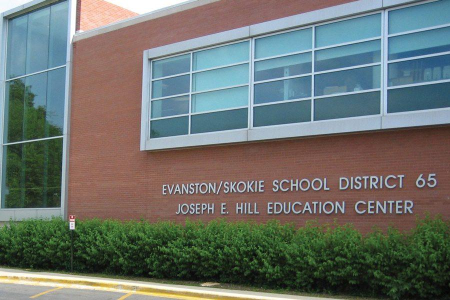The Joseph E. Hill Early Childhood Education Center holds the offices for Evanston/Skokie School District 65. On Monday, the district's board passed a contingency plan should next month's referendum fail to pass.