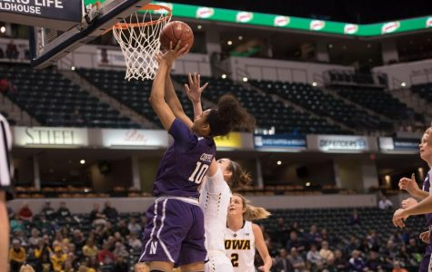 Women's Basketball: Northwestern upsets Iowa, moves on in Big Ten Tournament