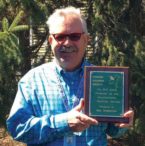 Evanston environmental services bureau chief honored with award from Chicago Audubon Society