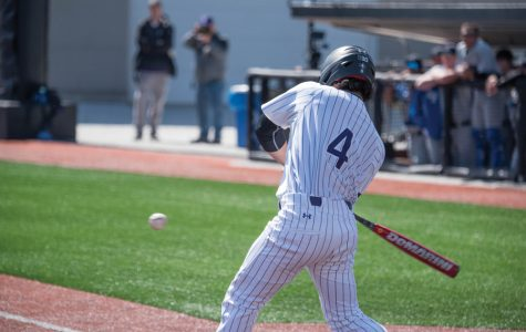 Baseball: Northwestern secures first conference wins in Iowa series