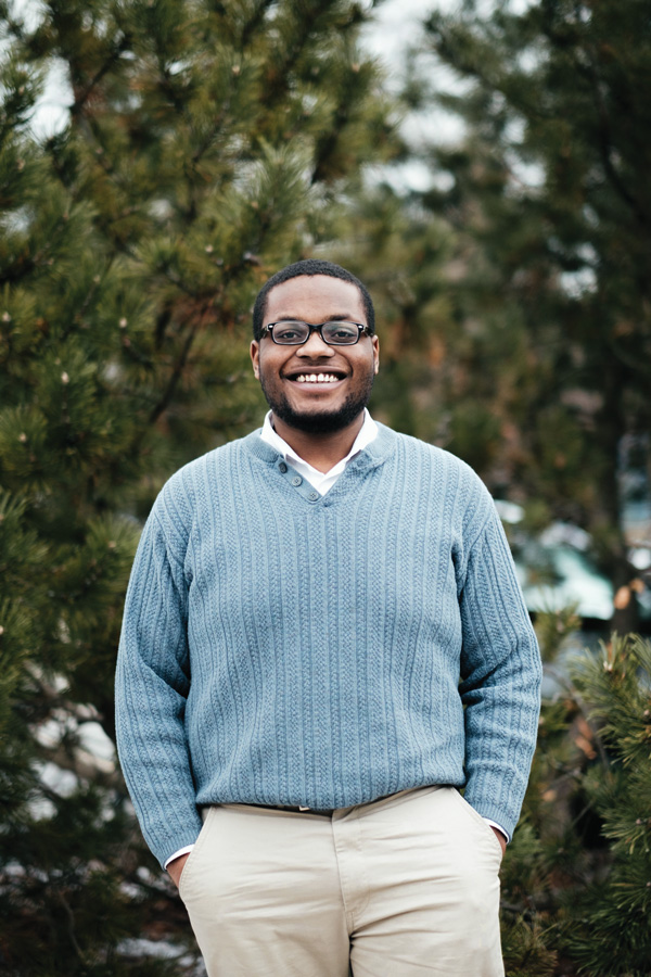 Devon Reid won the race for city clerk on Tuesday. He ran on a platform to increase government transparency and enhance voter participation.