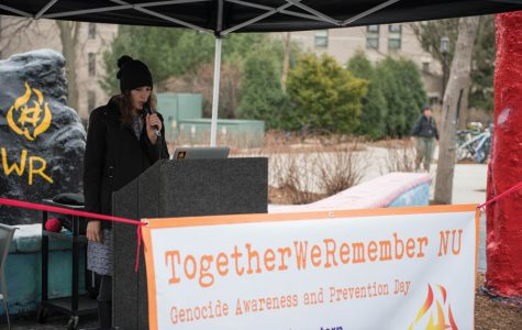 Students commemorate genocide victims with 12-hour name reading