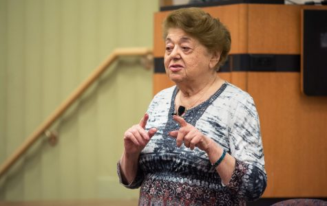 Holocaust survivor shares stories of hope, resilience at Holocaust Remembrance Day event
