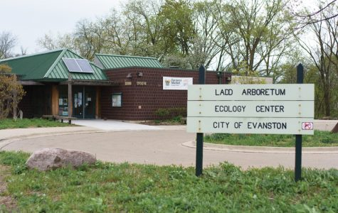 The Evanston Ecology Center, 2024 McCormick Blvd. The center has recently purchased four beehives, which it plans to fill with 40,000 honeybees.