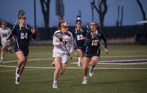 Lacrosse: Second-half surge gives Northwestern crucial win over Duke