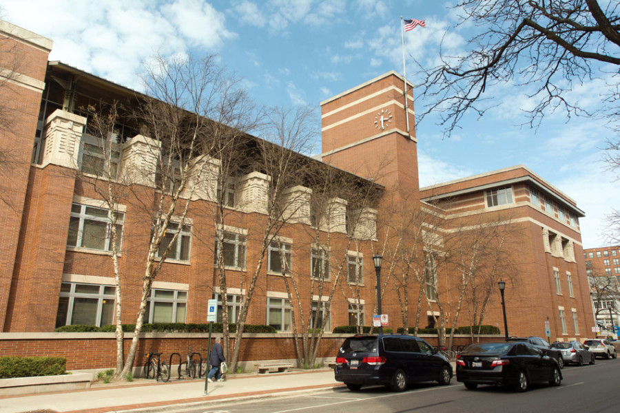 Evanston Public Library, 1703 Orrington Ave. EPL's Board of Trustees released a statement Tuesday in support of director Karen Danczak Lyons.
