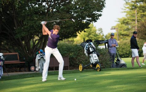 Men's Golf: Northwestern starts slow, finishes second at Big Ten Championships