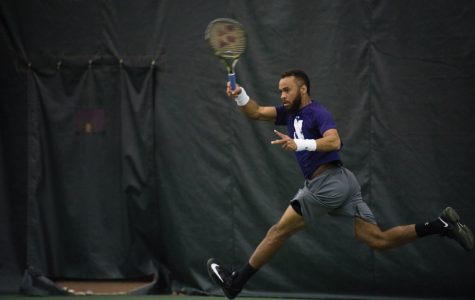 Men's Tennis: Northwestern keys in on doubles ahead of weekend road trip