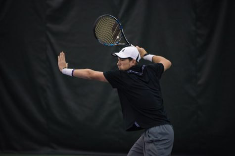 Men's Tennis: Northwestern faces one of nation's best in final regular season weekend