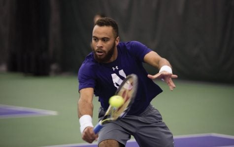 Men's Tennis: Seidman's heroics against Iowa seal perfect weekend for Northwestern
