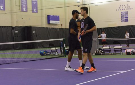 Men's Tennis: Northwestern falls to Wisconsin in second round of Big Ten Tournament