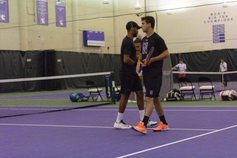 Men's Tennis: Northwestern falls to Wisconsin in second round of Big Ten Tournament