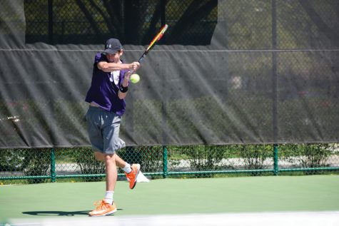 Men's Tennis: Newcomers shine as Wildcats close season with 2-1 weekend