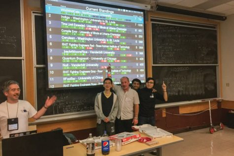 Team of NU students advances to finals of international programming contest
