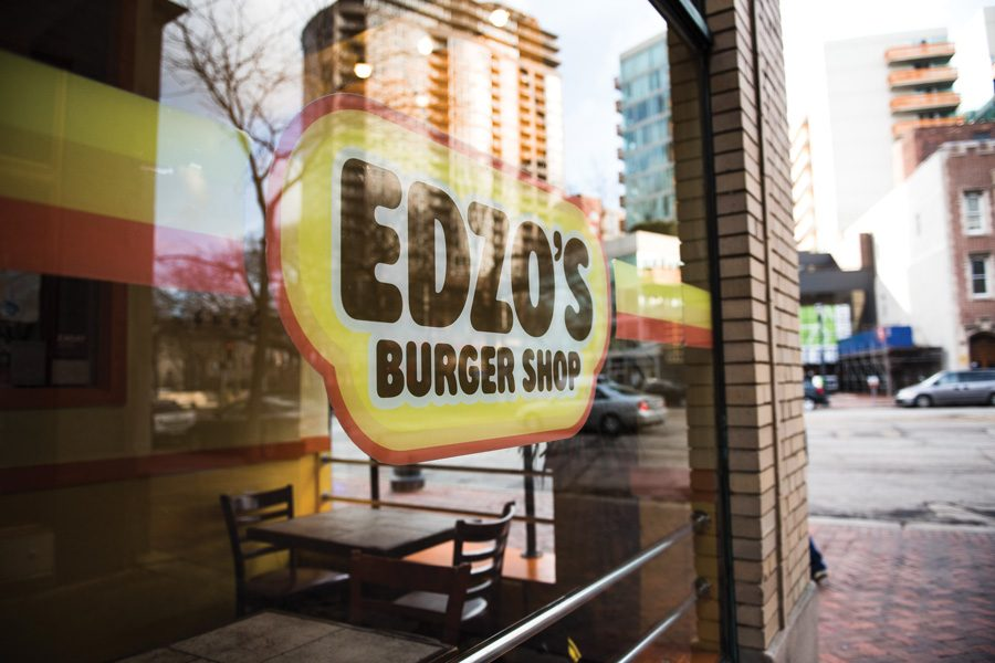 Edzo%E2%80%99s+Burger+Shop%2C+1571+Sherman+Ave.+Edzo%E2%80%99s+is+one+of+two+Evanston-based+restaurants+that+have+signed+onto+a+national+movement+denouncing+discrimination+and+establishing+safe+spaces.+