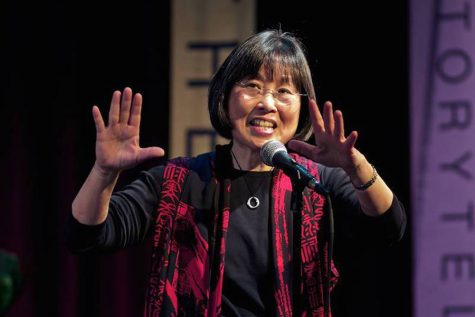 Storyteller shares experiences of World War II Japanese-American incarceration at EPL event