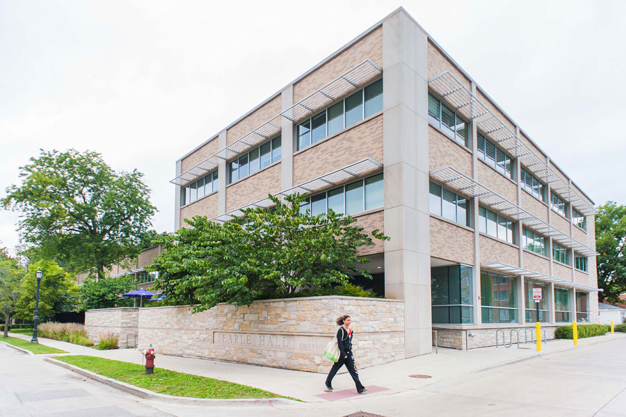 The Center for Awareness, Response and Education, housed in the Northwestern University Health Service building. CARE worked with the Sexual Harassment Prevention Office to review the description of a new position in the SHPO focused on education and outreach.