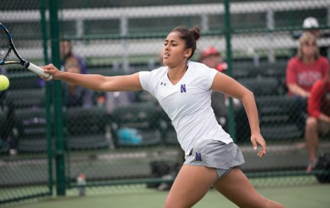 Women's Tennis: NU snaps winning streak, falls to Ohio State after Penn State sweep