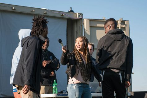 Captured: Chicago poet Kevin Coval, student artists kick off Art Box