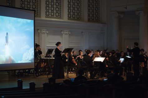 Music, astronomy collide at multimedia Bienen performance