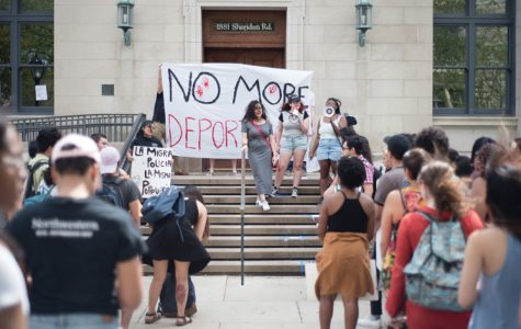 Students protest ICE representative's visit to campus