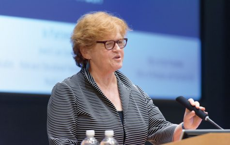 Historian Deborah Lipstadt speaks about Holocaust denial, alternative facts