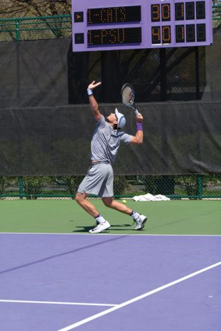 Men's Tennis: Pair of Northwestern players prepare for singles tournament