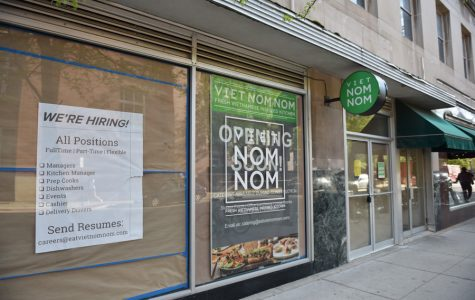 Viet Nom Nom, 618 ½ Church St. The restaurant's founders say they plan to move into the storefront location later this month.