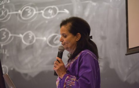 Organizer Rasmea Odeh speaks at Northwestern for SJP's Israeli Apartheid Week