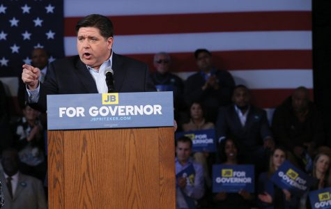 J.B. Pritzker launches his campaign in Chicago in April. U.S. Sens. Dick Durbin (D-Ill.)  and Tammy Duckworth (D-Ill.)  endorsed  Pritzker for governor on Friday.