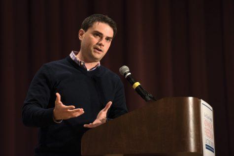 Controversial conservative speaker Ben Shapiro discusses politics, NU issues