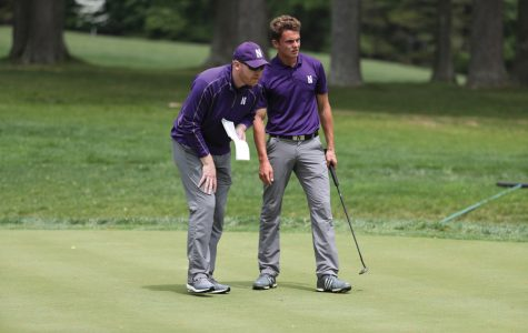 The Sideline: Confident but calm, Inglis brings passion for golf to Northwestern