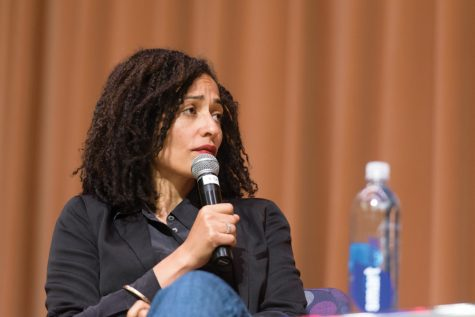 Author Zadie Smith discusses race, identity expressed in her work