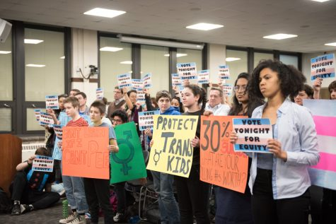 ETHS celebrates 'civil rights breakthrough' with new transgender locker room policy