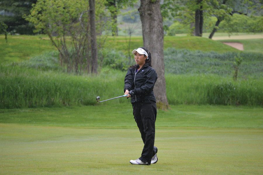 Northwestern women surge into NCAA championship golf match