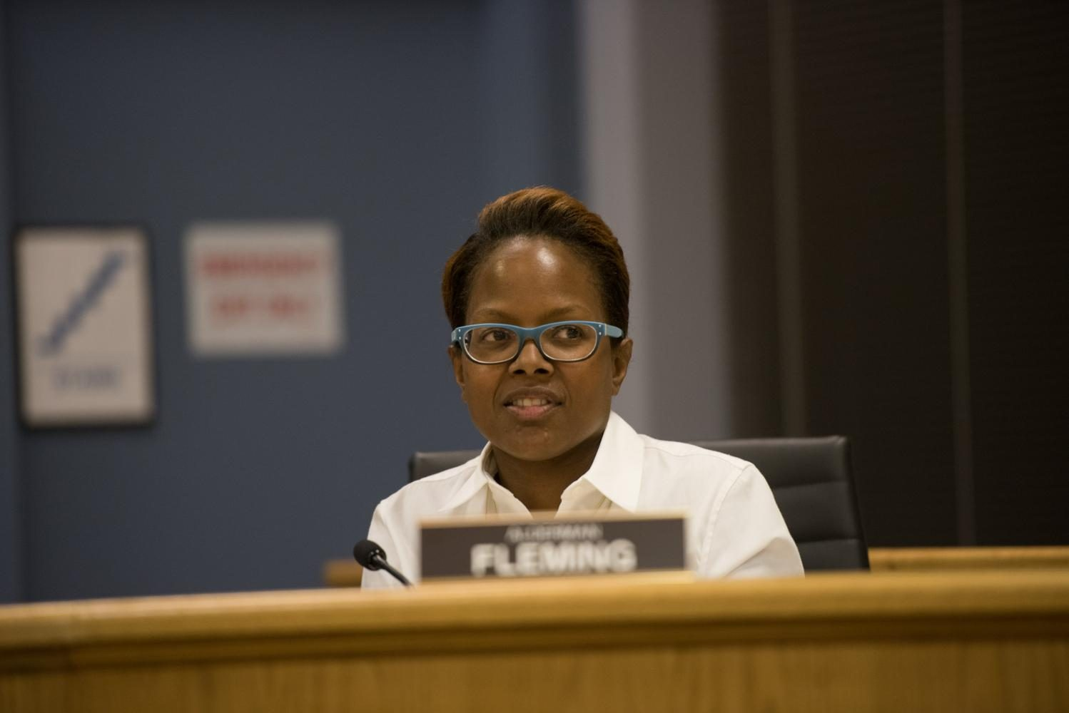 Ald.+Cicely+Fleming.+Fleming+expressed+her+opposition+of+the+adoption+of+the+resolution+to+settle+Shannon+Lamaster+v.+City+of+Evanston+et+al.%0A