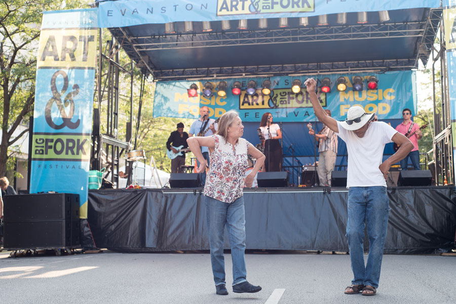 Captured: Evanston Art and Big Fork Festival