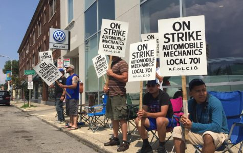 Evanston car dealerships affected by Chicago auto mechanics' strike
