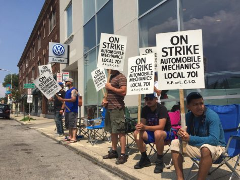 Evanston car dealerships affected by Chicago auto mechanics' strike